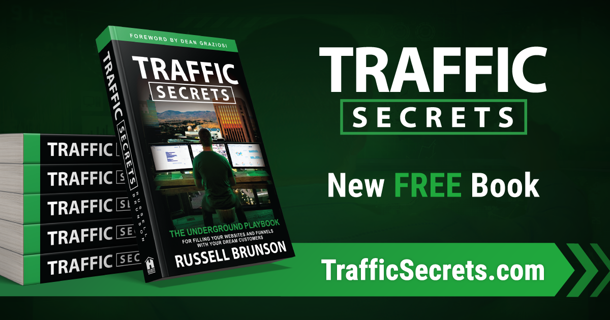 Resources Traffic Secrets Book by Russell Brunson