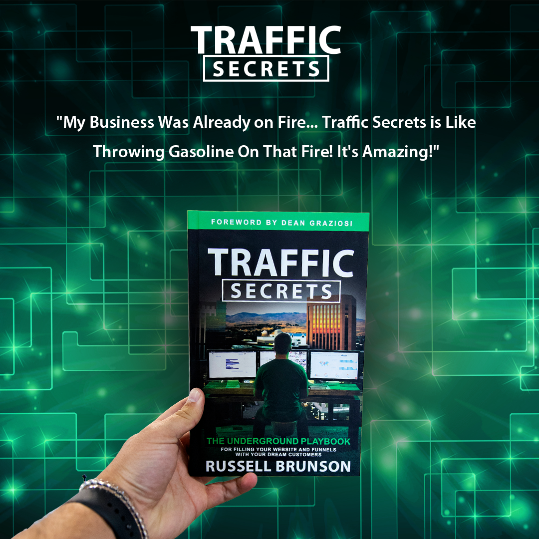 Russell Brunson Traffic Secrets Sign Up