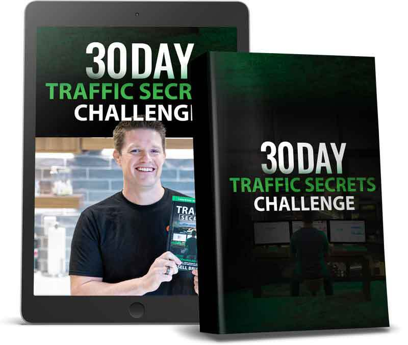 Bonus #5 - 30 Day Traffic Secrets Challenge!
