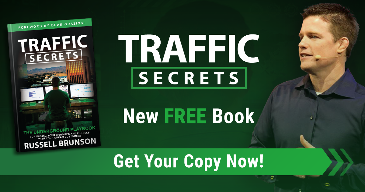 Traffic Secrets Russell Next Day Delivery